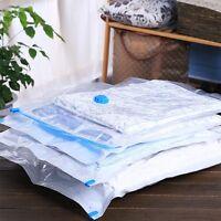 Clear 5 Large / Jumbo Space Saver / Saving Compresed Vacuum Seal Storage Bags