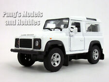 Land Rover Defender WHITE 1/32 Scale Diecast Metal Car Model