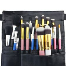 Hotrose 22 Pocket Professional Cosmetic Makeup Brush Bag with Artist Belt Strap