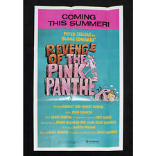 Revenge of the Pink Panther 1981 Original Topps Pin-Up Movie Poster