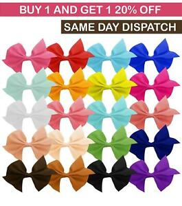 20/40 PCS Hair accessories Bows Girls Kids Baby Clips Toddler Ribbon Boutique