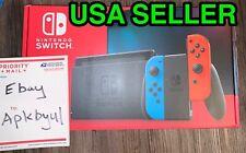 *NEW* Nintendo Switch 32GB Console Gray Neon Red Blue Joy-Con NEW MODEL 001(-01)