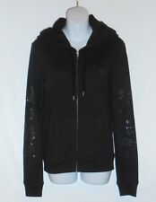 Victoria's Secret Pink Limited Edition Studded Logo Hoodie Black Small (S) NWT