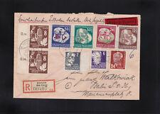DDR, Reco Eilboten Brief Grünheide nach Berlin