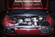 UNIVERSAL ...  LED UNDER HOOD ENGINE LIGHT KIT .. Don't work in the dark!