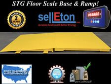 New Industrial 60 X 60 Floor Scale With Ramp 10000 Lbs X 1 Lb Digital Pallet