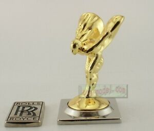 1:1 Scale Rolls Royce Fabulous hood Ornament Mascot Gold color Metal Model