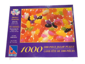 Sure-Lox Sweet Tooth Jelly Bean Colour Jigsaw Puzzle Game 1000 Pieces
