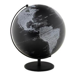 Designer Professional Executive Desk World Globe, 12 Inches (Choose Color)