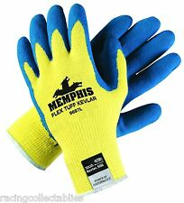 MEMPHIS FLEX TUFF KEVLAR GLOVES #9687L NEW IN PACKAGE 1 PAIR FREE SHIP