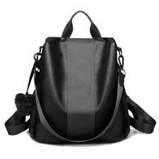 Women Waterproof Leather Backpack Anti-theft School Shoulder Bag Travel Rucksack