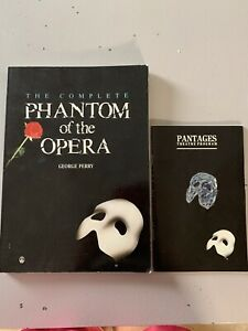 The Phantom Of The Opera Show Program and Pantages Theatre Program -  Toronto