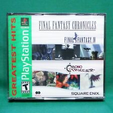Final Fantasy Chronicles Final Fantasy IV 4 & Chrono Trigger (PlayStation 1 PS1)