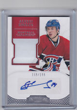 MONTREAL CANADIENS 2012-13 PANINI DOMINION ALEXEI EMELIN AUTO PATCH #'D 159/199