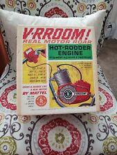 VINTAGE 1963 MATTEL V-RROOM HOT RODDER ENGINE  BOX ONLY !