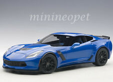AUTOart 71265 CHEVROLET CORVETTE C7 Z06 1/18 DIECAST MODEL CAR LAGUNA BLUE