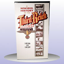 Newsreel Hitler's Third Reich 1936-1939 Vol 2 Germany World War 2 VHS PAL - NEW