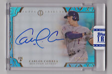CARLOS CORREA 2015 Topps Tribute Rookie Auto #D 72/150 Sealed Houston Astros RC