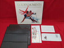 Golden Moments- A Collection of United States 1984 Olympic Issues WITH STAMPS!