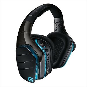 Logicool G933 RGB Surround Gaming Headset Wireless Dolby / DTS Japan NEW
