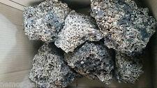 Ceramic Lava Aquarium Rock. Very porous, looks fantastic. EXPRESS FREEPOST.UK
