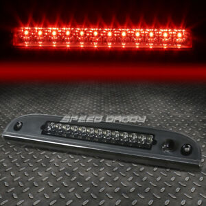 FOR 08-12 FORD ESCAPE MARINER LED THIRD 3RD TAIL BRAKE LIGHT PARKING LAMP SMOKED