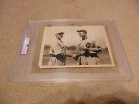 "1922 Ty Cobb & Tillie Walker Original Type l Photograph 8.5"" x 6.5"" PSA/DNA Slab"