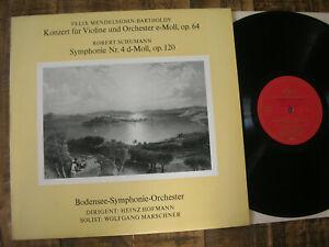 rare LP BODENSEE-SYMPHONIE ORCHESTER - Marschner / MENDELSSOHN / SCHUMANN  NM