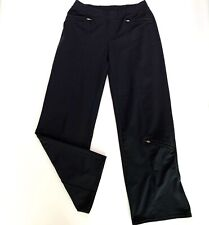 Athleta Black Cropped Pants With 3 Zip Pocket Women's Small Petite