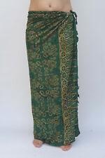 Sarong Premium Qualität Pareo Tuch Wickelrock Wandbehang Sari Lungi SA380dg P