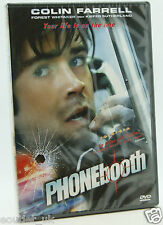 Phonebooth DVD Region 2 NEW SEALED Colin Farrell