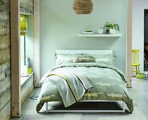 Scion Bedding Mr Fox Silver Grey Duvet Cover, Pillowcase, Cushion or Throw