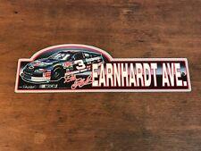 2001 Dale Earnhardt #3 Nascar Plastic Souvenir Street Sign
