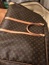 Genuina maleta Monograma Sirius Louis Vuitton bolsa de equipaje Muy Buen Estado