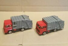 Matchbox Superfast  refused/garbage truck x 2 tampos Variations , mint / loose