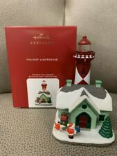New Listing2020 Hallmark Holiday Lighthouse 9Th In Series Ornament *Nib* Free Shipping Us!