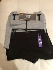 NWT - 2 Pairs Of Lee Boys Joggers /sweatpants - Size XS 5/6