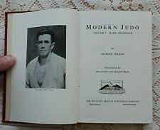 MODERN JUDO BASIC TECHNIQUE BY CHARLES YERKOW 1956 PRINTING