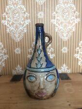 Botella De Cerámica Decorado Antiguo De Irak/Siria. islámica interés, Medio Oriente.