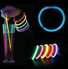 15 Bâtons Lumineux Bracelets Colliers Fluo Enfants