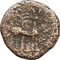 EPHESUS in IONIA 200BC Bee Stag Palm Genuine Authentic Ancient Greek Coin i48162