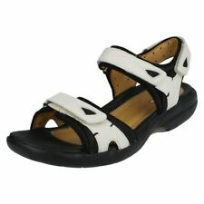 Clarks Wedge Sandals 100% Leather Heels for Women