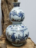Fine  Chinese Blue And White Porcelain Vase Collection