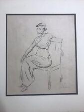 Max Liebermann /1847-1935/ German-Jewish original large pencil signed lithograph