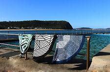 Mandala Round Beach Large Towel Throw Yoga Mat Boho Rug 100% Cotton NEW