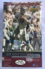 1999 Upper Deck Football Factory Sealed 24 Pack Box