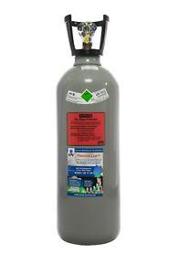 10 kg CO2 Flasche mit Steigrohr Tauchrohr, Getränke Kohlensäure, NEU&VOLL, EU