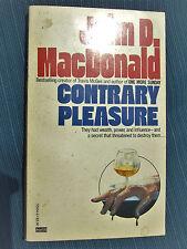Contrary Pleasure by John D. MacDonald (1985, Paperback) VG