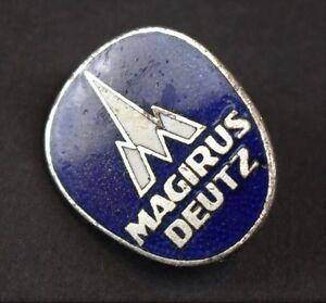 Antikes Firmenabzeichen Magirus Deutz Abzeichen für Kunden LKW Busse