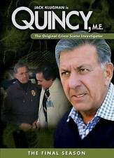 New: Quincy, M.E.: The Final Season NTSC, Full Screen, Multiple Form